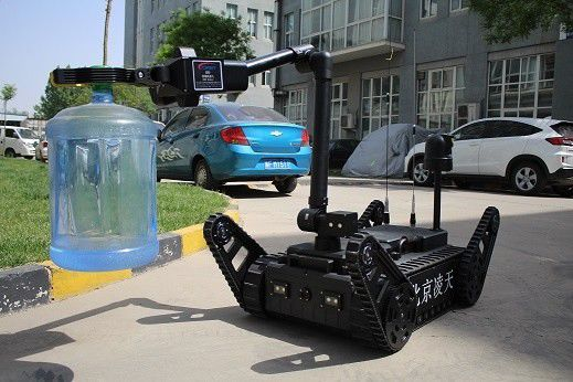 360 ° Panorama Image ER3-A EOD Robots With 12 Inch High Light LCD Screen