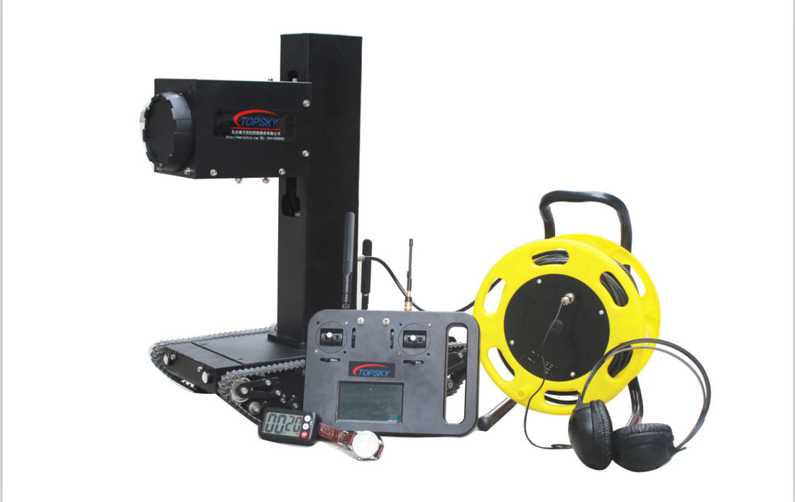 600 * 320 * 600mm Bomb Disposal Robot With 15hrs Hearing Device Working Time